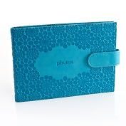 Product Image. Title: Jonathan Adler Meadow Mosaic Soft Teal Photo Wallet (6x4 Photos)