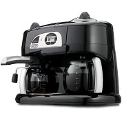 Product Image. Title: DeLonghi Combination Model BCO12OT Espresso Machine, Cappuccino and Coffee Maker