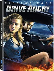 Drive Angry starring Nicolas Cage: DVD Cover