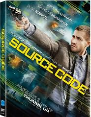 Source Code starring Jake Gyllenhaal: DVD Cover