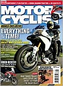 Magazine Cover Image. Title: Motorcyclist - One Year Subscription