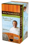 Product Image. Title: Wolfgang Puck� WP791016 Breakfast in Bed� Medium Roast Single Cup Coffee Pods, 108-count