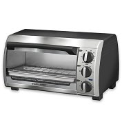 Product Image. Title: Applica TRO480BS Four Slice Toaster Oven