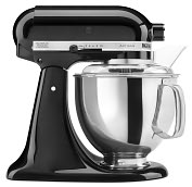 Product Image. Title: KitchenAid� KSM150PSOB Artisan� Series 5-Quart  Tilt-Head Stand Mixer, Onyx Black