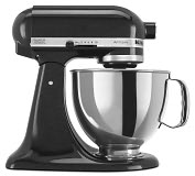Product Image. Title: KitchenAid� KSM150PSCV Artisan� Series 5-Quart Tilt-Head Stand Mixer, Caviar