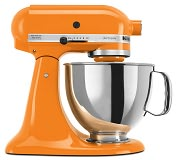 Product Image. Title: KitchenAid� KSM150PSTG Artisan� Series 5-Quart Tilt-Head Stand Mixer, Tangerine