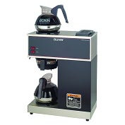 Product Image. Title: BUNN� VPR-2EP 12-Cup Pourover Commercial Coffee Brewer + 2 Easy Pour� Commercial Decanters