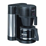 Product Image. Title: BUNN� NHBX-B(D) Velocity Brew� High Altitude Contemporary 10-Cup Home Brewer, Black