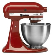 Product Image. Title: KitchenAid� KSM95ER Ultra Power� Tilt-Head Stand Mixer, Empire Red