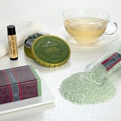 Product Image. Title: Spa Gift Set - Canton Green