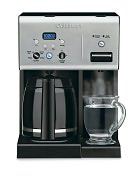 Product Image. Title: Cuisinart CHW-12 12-Cup Programmable Coffeemaker with Hot Water System