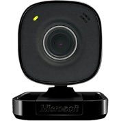 Product Image. Title: Microsoft LifeCam VX-800 Webcam - 0.3 Megapixel - Black - USB 2.0