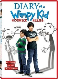 Diary of a Wimpy Kid: Rodrick Rules starring Zachary Gordon: DVD Cover