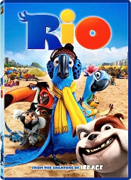 Rio starring Anne Hathaway: DVD Cover