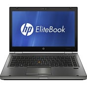"Product Image. Title: HP EliteBook 8460w XU078UT 14.0"" LED Notebook - Core i5 i5-2540M 2.60GHz- Smart Buy"