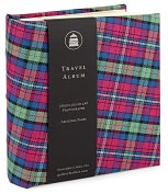 Product Image. Title: Pink Plaid Travel Photo Album