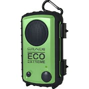 Product Image. Title: Grace Digital Eco Extreme Speaker System - 3 W RMS - Lime Green