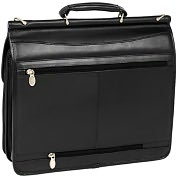 Product Image. Title: McKleinUSA Halsted V Series 80335 Double Compartment Laptop Case