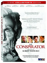The Conspirator starring Robin Wright: DVD Cover