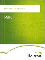John Cann Bailey - Milton