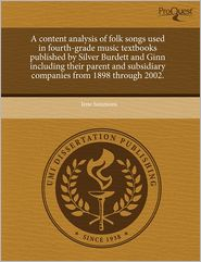 A Content Analysis Of Folk Songs Used I...