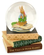 Product Image. Title: Peter Rabbit Musical Water Globe