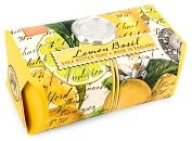 Product Image. Title: Lemon Basil Large Bath Soap Bar