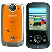 Product Image. Title: 5MP WP HD Dig Camcorder-Orange