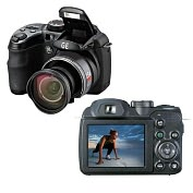 Product Image. Title: 16 MP Dig Cam 15X 2.7&quot; LCD-Blk