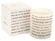 Product Image. Title: Quotable Candle May you always be blessed