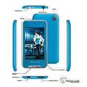 Product Image. Title: Visual Land V-Touch Pro ME-965 4 GB Blue Flash Portable Media Player
