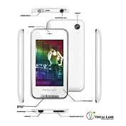 Product Image. Title: Visual Land V-Touch Pro ME-965 4 GB White Flash Portable Media Player