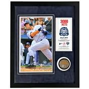 Product Image. Title: Derek Jeter 3,000th Hit Framed 11x14 Mini Dirt Collage