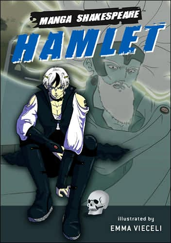 Hamlet: Prince of Denmark (Manga Shakespeare Series) book cover