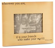 Product Image. Title: Wherever You Are Quote 4X6 Photo Frame
