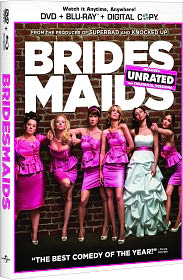 Bridesmaids starring Kristen Wiig: DVD Cover