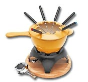 Product Image. Title: Paderno World Cuisine Red Fondue Set