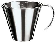 Product Image. Title: Paderno World Cuisine 3 3/8 Oz. Stackable Stainless Steel Measuring Jug
