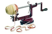 Product Image. Title: Paderno World Cuisine Apple Peeler with Suction Cup