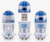 Product Image. Title: Mimoco Star Wars R2-D2 MIMOBOT USB Flash Drive - 4GB