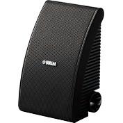 Product Image. Title: Yamaha NS-AW592 50 W RMS Speaker - 2-way - Black