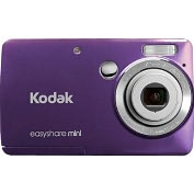 Product Image. Title: Kodak EasyShare M200 10 Megapixel Compact Camera - Purple