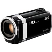 "Product Image. Title: JVC Everio GZ-HM670 Digital Camcorder - 2.7"" - Touchscreen LCD - CMOS - Full HD, SD - Black"