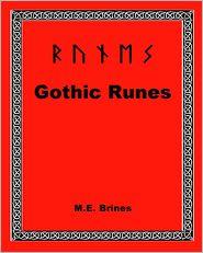 M.E. Brines - Gothic Runes