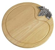 "Product Image. Title: Paderno World Cuisine 15 3/4"" Wood Cheese Board"