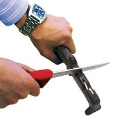 "Product Image. Title: Paderno World Cuisine 10"" Long Knife Sharpener"