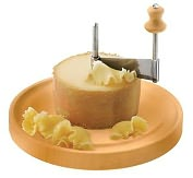 "Product Image. Title: Paderno World Cuisine 8 5/8"" Dia. Girolle Cheese Scraper"
