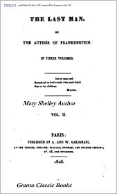 Mary Shelley - The Last Man by Mary Shelley ( with Footnotes)