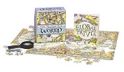 Product Image. Title: Teeny Tiny Jigsaw Puzzle: The World: Magnifying Glass Included!