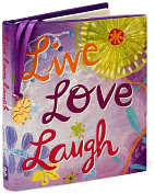 Product Image. Title: Live, Love, Laugh Little Gift Book